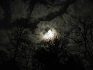 moon stars sky