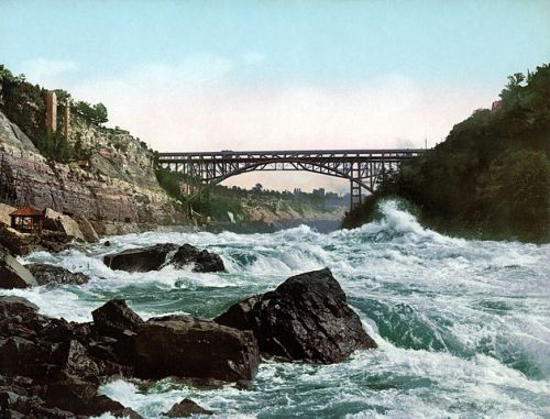 bridge river rapids whirlpool