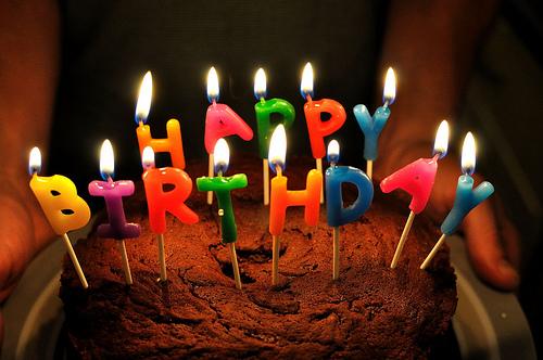 Birthday cake, photo by Will Clayton