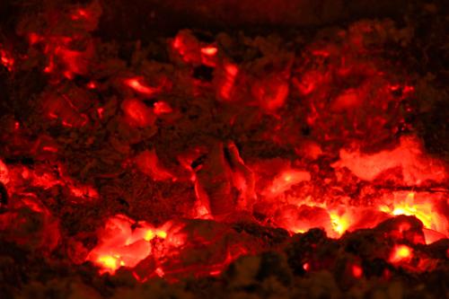 fire embers